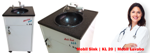 Mobil lavabo Seyyar Lavabo